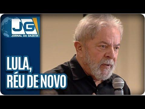 Réu de novo, Lula reage com ironia