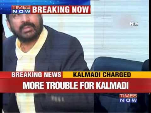 Suresh Kalmadi, aides charged
