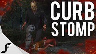 CURB STOMP - Friday the 13th Game