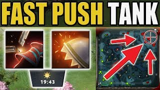 """Super Fat Timbersaw """"Just ignore Him"""" [0 Deaths Reactive Armor + Return] Dota 2 Ability Draft"""