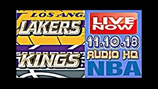 LAKERS vs KINGS Live Now Full Game 11.10.18 Score and Free Bets