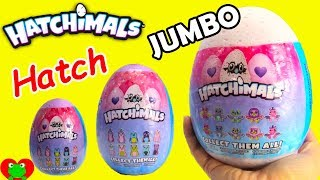 JUMBO Hatchimals Glittering Garden Twin Surprise Eggs