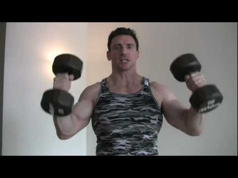 Best Shoulder Press Workout and Power Clean and Press Modified for Bodybuilding Image 1