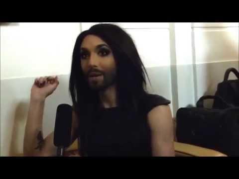 Interview: Conchita Wurst (Austria) - Eurovision in Concert 2014 | wiwibloggs