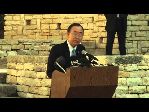 IsraMUN Participants Meet with UN Secretary General Ban ki-Moon on His Visit to Israel