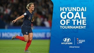 Amandine HENRY – HYUNDAI GOAL OF THE TOURNAMENT – NOMINEE