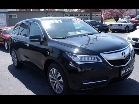 2015 Acura MDX SH-AWD Walkaround, Start up, Tour and Overview