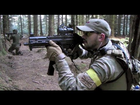Airsoft War UMP M14 M1A1 POW Scotland HD