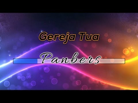 [Midi Karaoke] ♬ Panbers - Gereja Tua ♬ Versi 2 +Lirik Lagu [High Quality Sound]