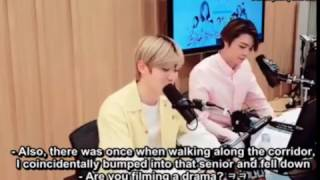 "[Eng sub] 170502 - NCT's Night Night ""Shindong middle school Jeong Jaehyun sunbaenim, I liked you"""
