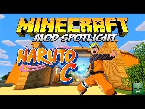 NARUTO C MOD - ¡Conviértete en ninja! [Forge][1.6.4]