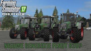 'NIEUWE GENERATIE FENDT 820?' Farming Simulator 17 Mod Review