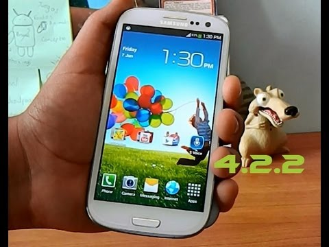 Analisis Android 4.2.2 Oficial Galaxy S3 // TuandroidPersonal