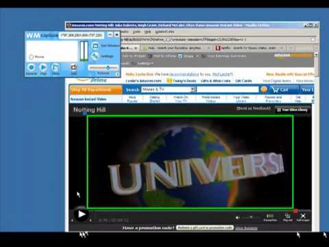 Record or Capture Streaming Movies & Burn to DVD with WM Capture