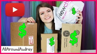 I Bought The First 5 Things YouTube Recommended To Me / AllAroundAudrey