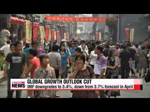 IMF downgrades global growth forecast to 3.4 percent