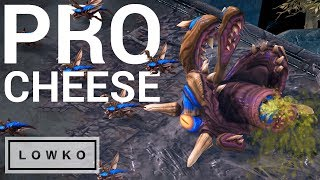 StarCraft 2: PROFESSIONAL CHEESE!
