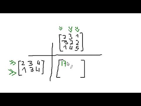 2. Operaciones básicas con matrices - Álgebra lineal y matrices