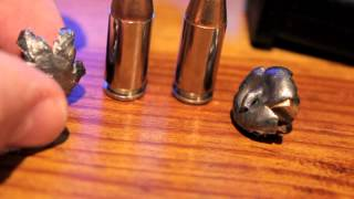 40 S&W Ammo Test - Glock 27 Water Expansion Test