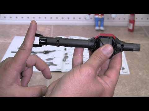 Axial Wraith Kit Build Video 5