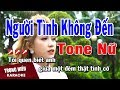 Karaoke Người Tình Không Đến Tone Nữ Nhạc Sống | Trọng Hiếu thumbnail