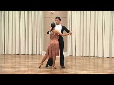 Sergey Surkov & Melia Basic Cha Cha Routine video