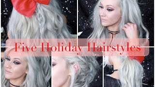 5 Holiday Hairstyles using Clip-In Hair Extensions - LUXURY FOR PRINCESS