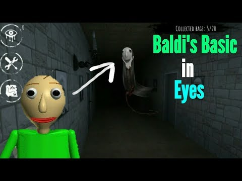 Baldi's Basic in Eyes The Horror Game(Create Your Own Ghost Mode)