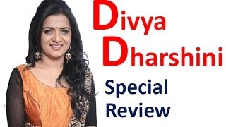 DD - Divyadharshini Special Review by Flm Corner | Trailer | Shooting Spot | Interviews
