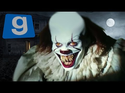 Gmod KILLED BY SCARY PENNYWISE! Pennywise The Clown (Garry's Mod IT 2017)