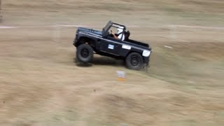 Land-Rover Defender 90 - Off Road Trial Extreme 2013