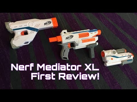 First Review: Nerf Modulus Mediator XL (Best Modulus Gun Ever?)