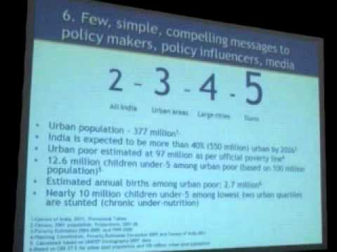 Session: Impact of Urbanization on Public Health in India (Part VI Bringing Policy Focus)