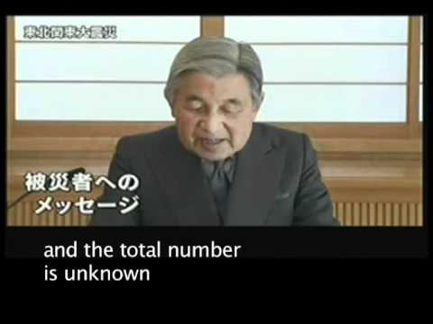 The Emperor's Speech (Musical setting of Akihito's TV speech following the 2011 earthquake)