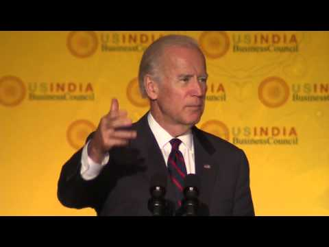 Vice President Biden at U.S.-India Strategic & Commercial Dialogue