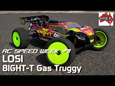 RC Speed Week #11 Losi 8T Gas Truggy Stock