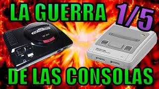 LA GUERRA DE LAS CONSOLAS - (Documental Completo) - (La Historia de los Videojuegos)