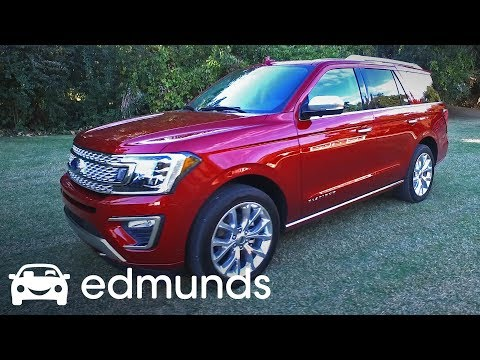 2018 Ford Expedition Review   Test Drive   Edmunds