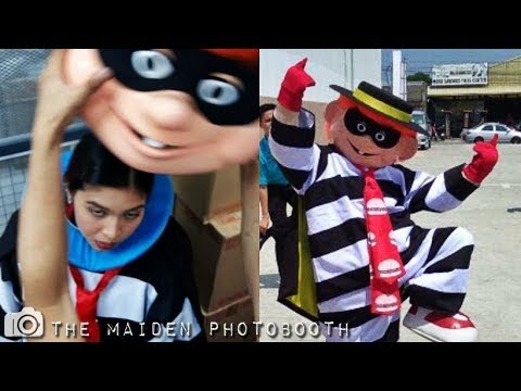 Maine Mendoza Dress Up As Hamburglar @ Mcdo Sta Clara August 12 2017 #ALDUBReadyToBeYours