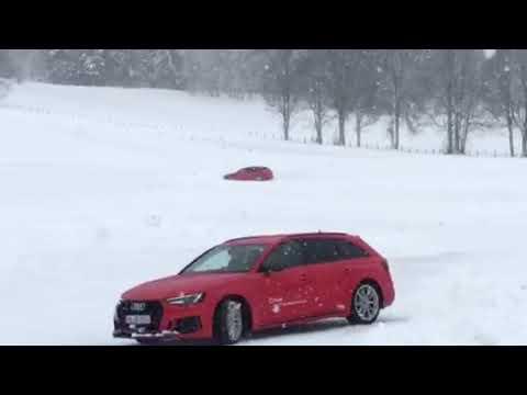 AUDI RS4 Kitzbühel 18.01.2018