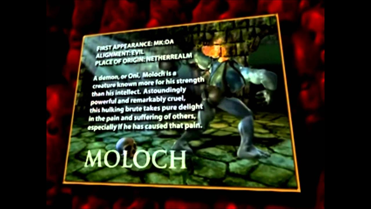 Mk Armageddon Character Cards Bios YouTube