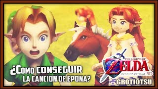 HOW to get the EPONA'S SONG! - Zelda ocarina of time (3DS / N64) | Grotiotsu