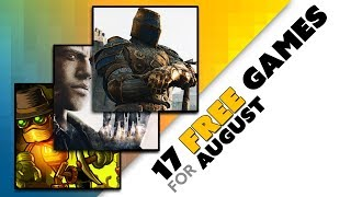 17 FREE GAMES for PS Plus Xbox Live and Twitch Pri