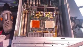 Sun StorageTEK 5320 tear down