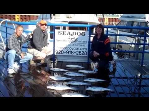 Sheboygan - Catching fish out of Sheboygan Wisconsin June 5, 2011
