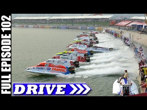 UIM F1 Powerboat World Championship, India & More   DRIVE TV Show   Full Episode # 102 (HD)