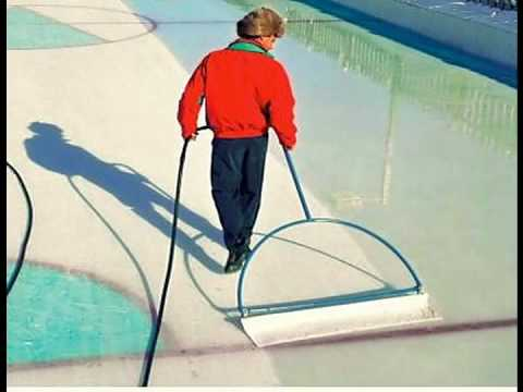 ice resurfacer how to flood backyard pond ice skating rink by hand