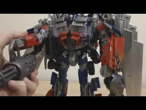 Transformers Dark of the Moon Takara Tomy Jetwing Optimus Prime (Revisão em Português)