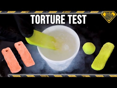 Proto-Putty in Liquid Nitrogen & Other Crazy Tests!