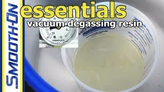 How to Remove Bubbles from Urethane Resin - Vacuum Degassing